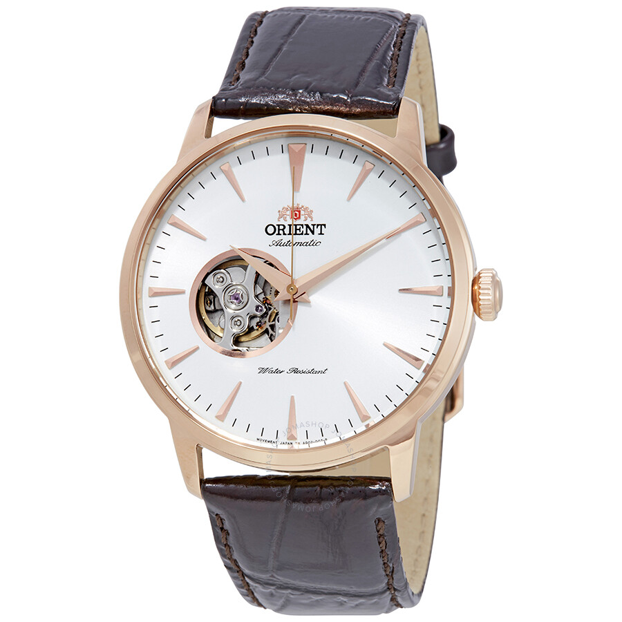 acdc42994 Orient Open Heart Automatic White Dial Men's Watch FAG02002W0 ...