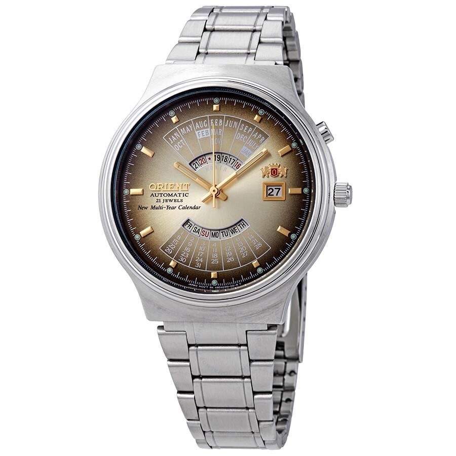 Perpetual Calendar Watch >> Orient Perpetual Calendar World Time Automatic Men S Watch
