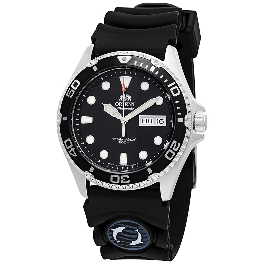 Orient Ray Ii Automatic Black Dial Men's Watch Faa02007 B9 by Orient