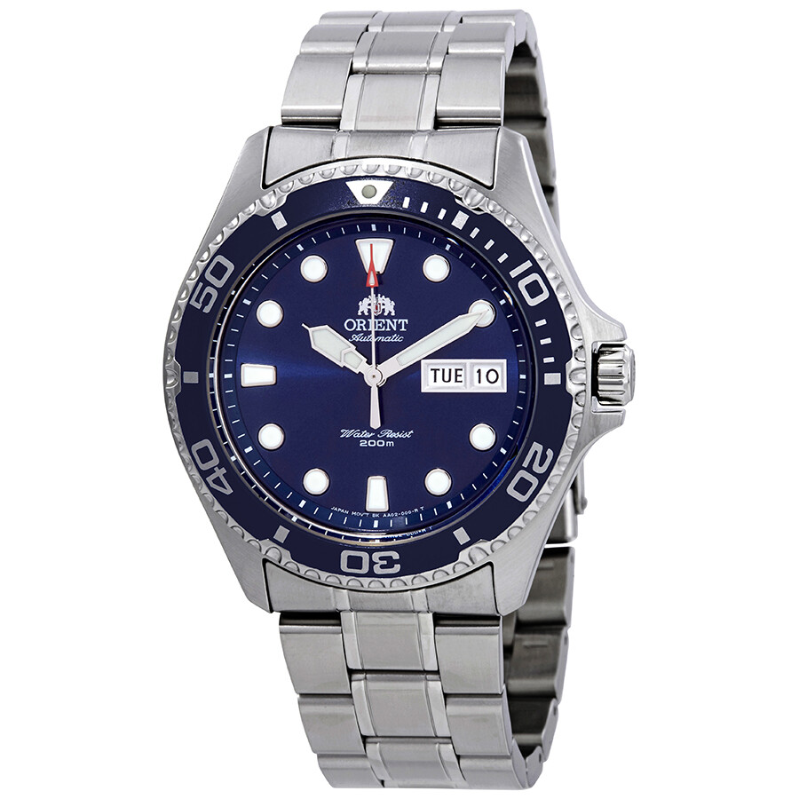 Orient Ray II Automatic Blue Dial Men's Watch FAA02005D9 ...