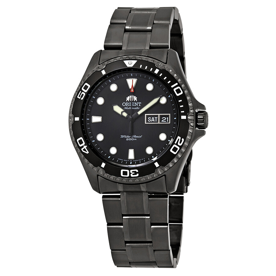 Orient Ray Raven Ii Automatic Black Dial Men S Watch Faa02003b9