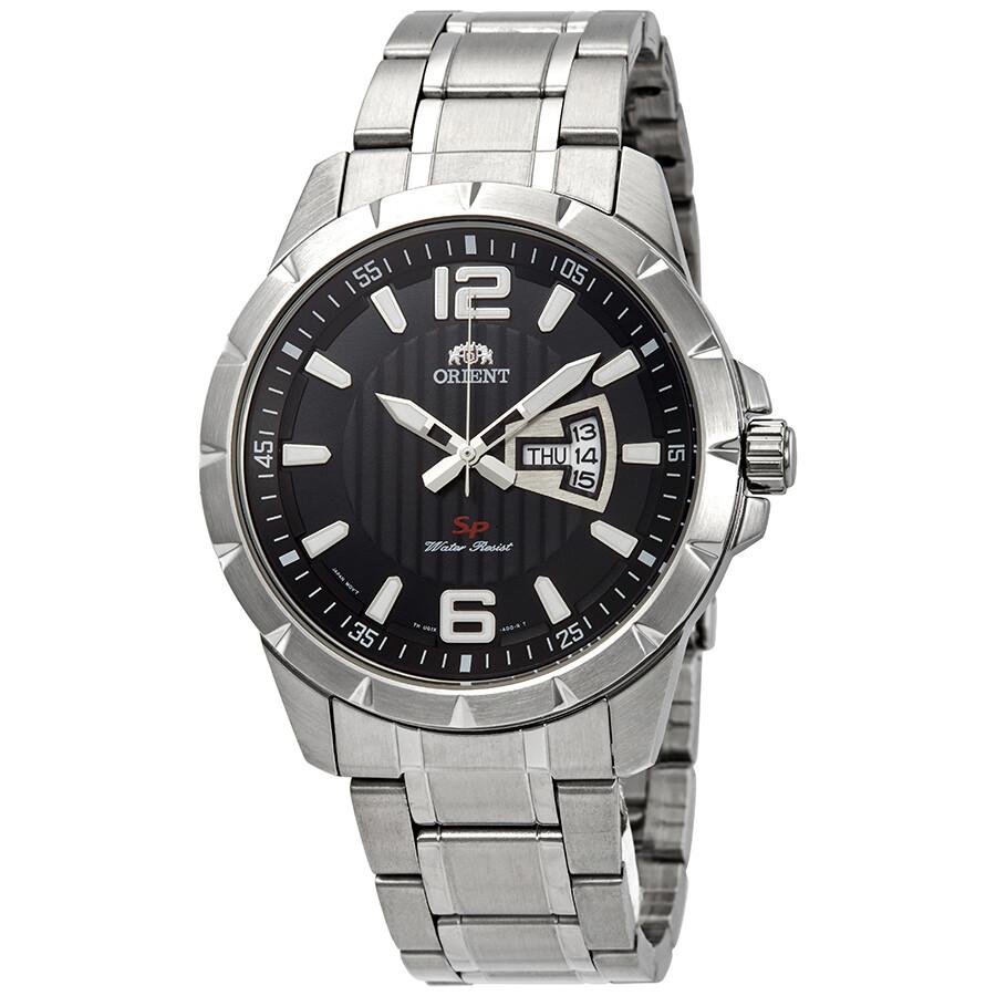 Orient Sport Black Dial Men's Watch FUG1X004B - Orient ...