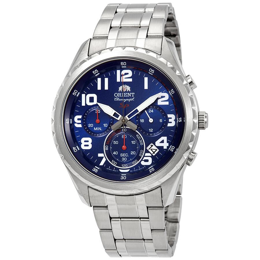 0810f8b7d Orient Sport Chronograph Blue Dial Men's Watch FKV01002D - Orient ...