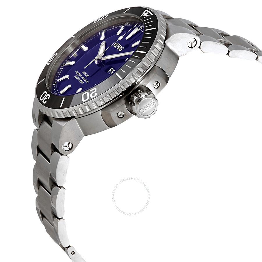 f99a593b4e15f ... Oris Aquis Big Day Date Automatic Men s Blue Dial Watch 01 752 7733 4135 -07 ...