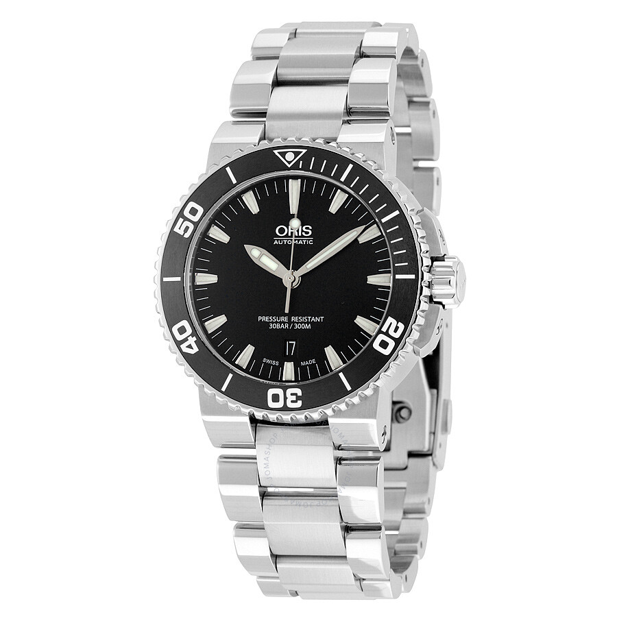 Oris Aquis Date Automatic Men s Watch 733-7653-4154MB Item No. 01 733 7653  4154-07 8 26 01PEB 88a94a27321