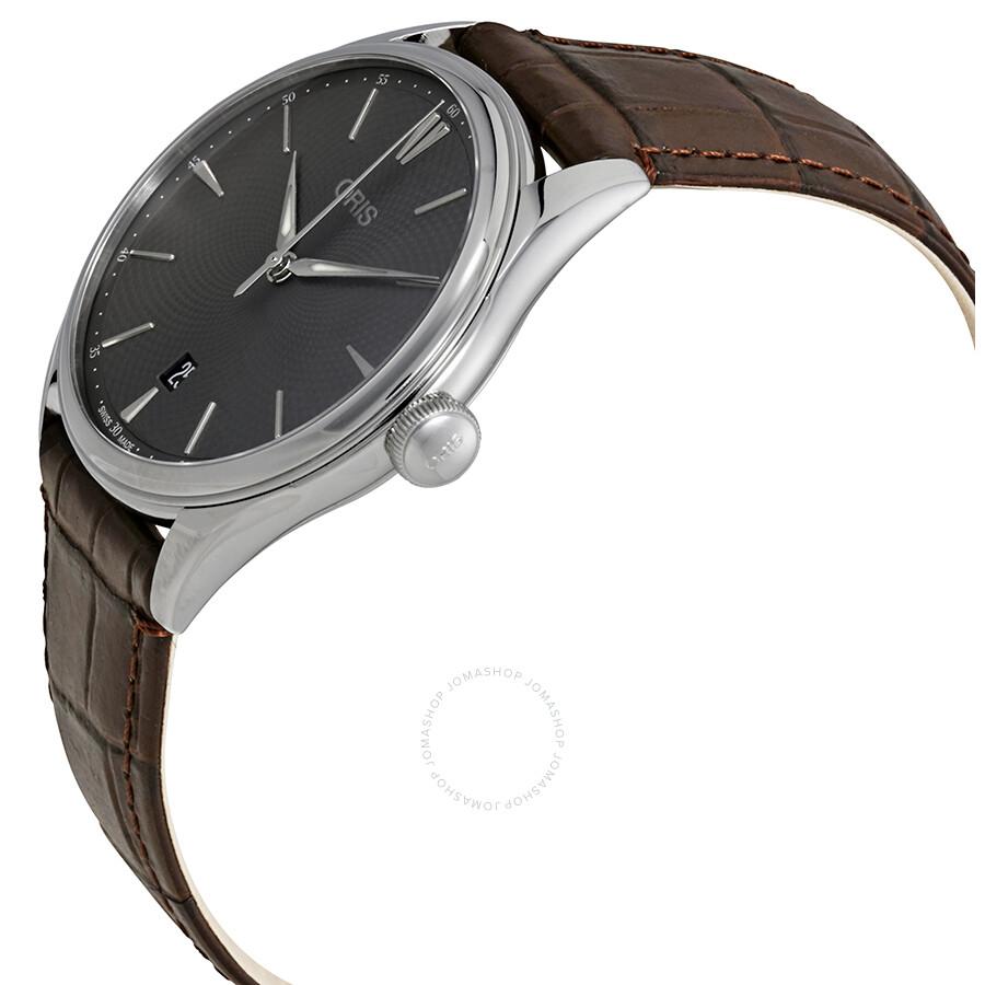 3b97970d2 ... Oris Artelier Date Automatic Grey Dial Men's Watch 01 733 7721 4053-07  5 21 ...