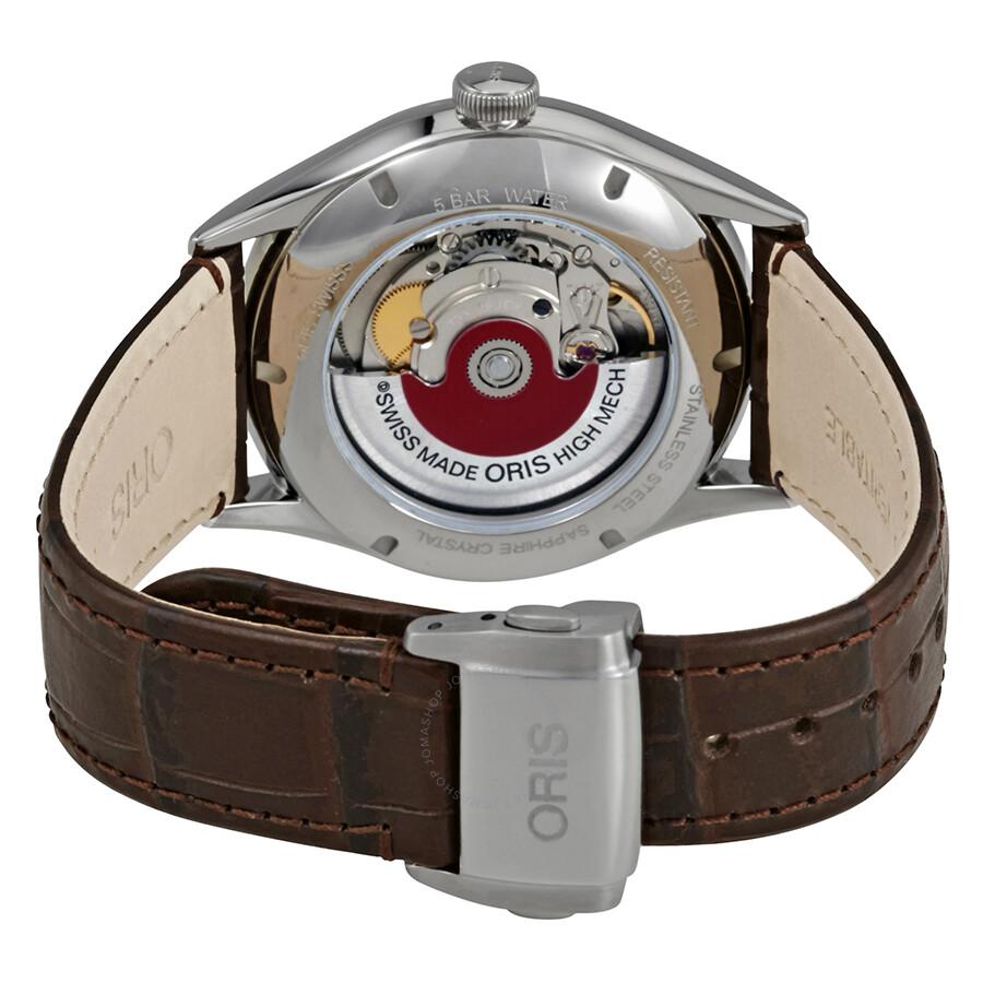 f04ab4dba ... Oris Artelier Date Automatic Grey Dial Men's Watch 01 733 7721 4053-07  5 21
