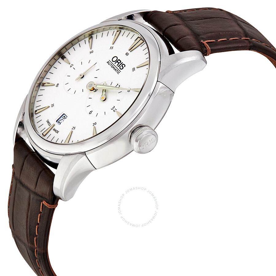 Oris Artelier Regulateur Automatic Silver Dial Men's Watch ...