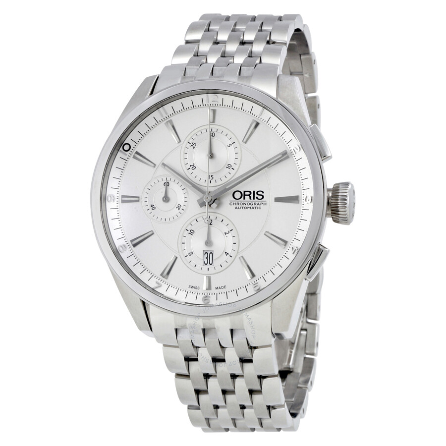 Oris artix chronograph men 39 s watch 674 7644 4051mb artix oris watches jomashop for Oris watches