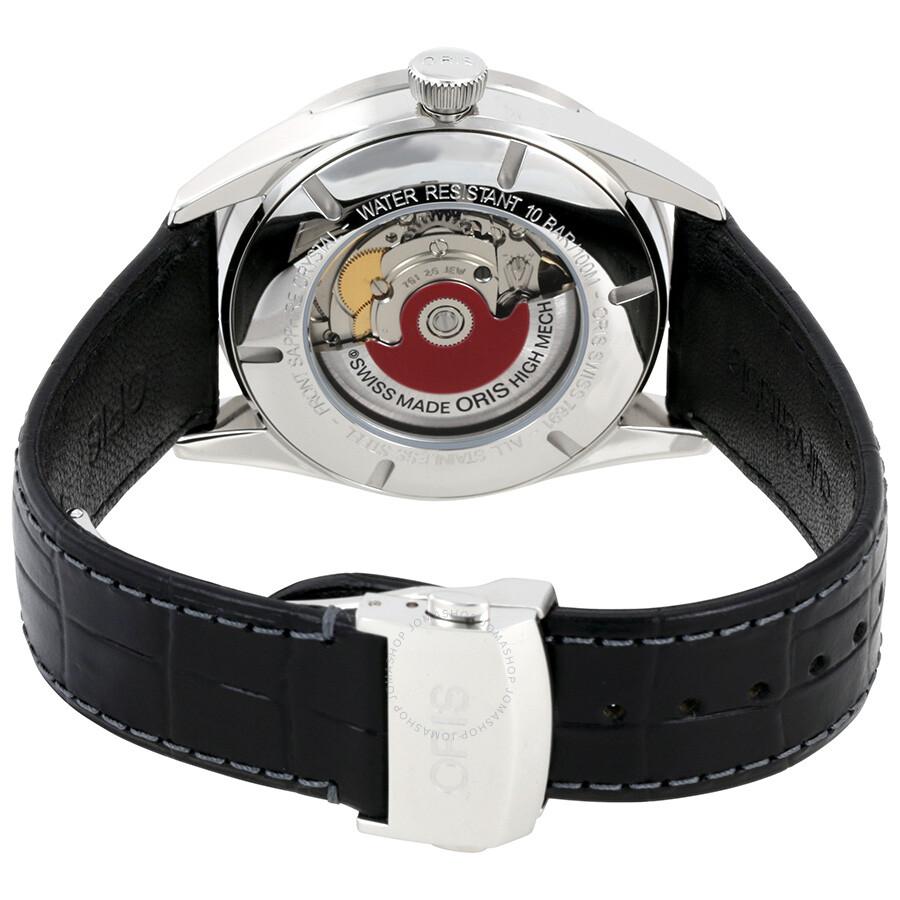 ... Oris Artix Pointer Moon Black Dial Men's Watch 761-7691-4054LS
