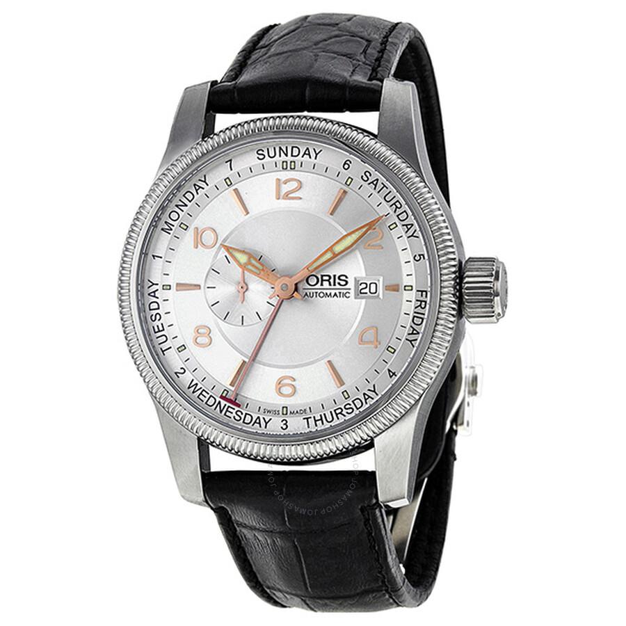 Oris Aviation Big Crown Automatic Silver Dial Men's Watch 745-7629-4061LS
