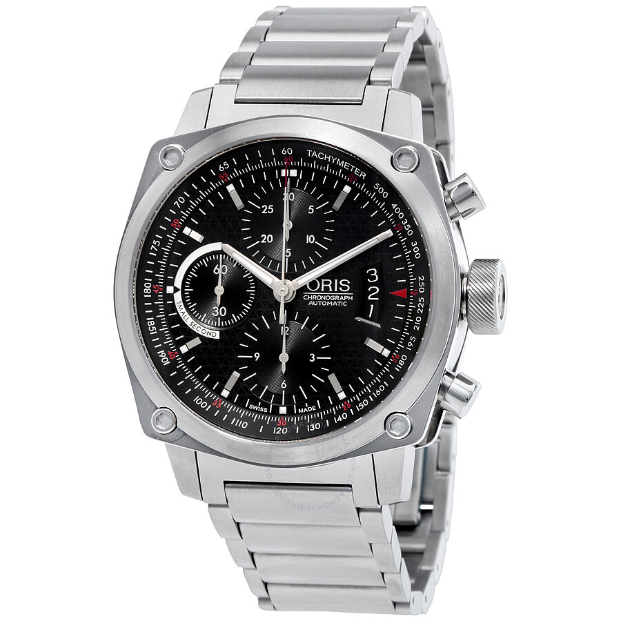 Oris bc4 chronograph automatic men 39 s watch 674 7616 4154mb bc4 oris watches jomashop for Oris watches