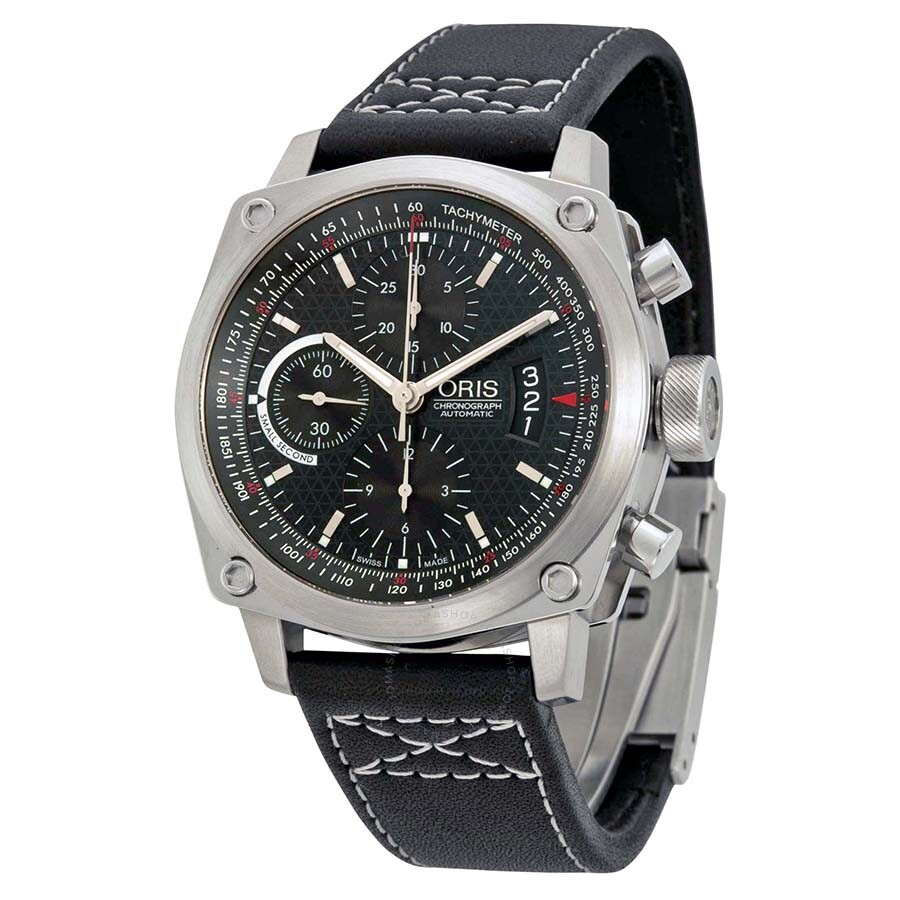 Oris bc4 chronograph automatic men 39 s watch 674 7616 4154ls bc4 oris watches jomashop for Oris watches