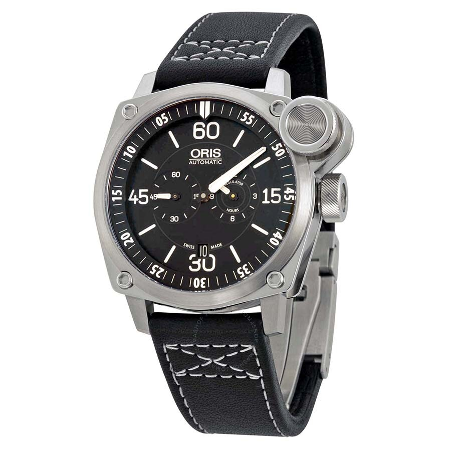 Oris bc4 der meisterflieger automatic men 39 s watch 749 7632 4194ls bc4 oris watches jomashop for Oris watches