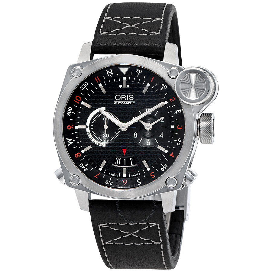 Oris bc4 flight timer automatic men 39 s watch 690 7615 4154ls bc4 oris watches jomashop for Oris watches