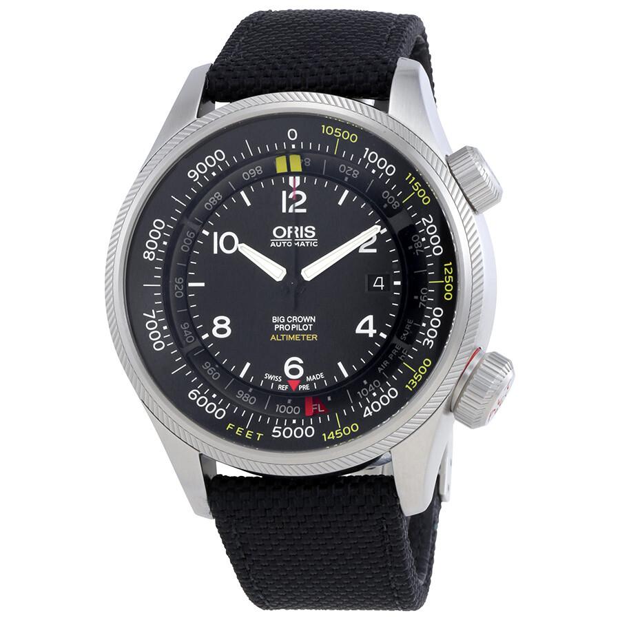 1851d28c3 Oris Big Crown ProPilot Black Dial Automatic Men's Watch 733-7705-4134FS  Item No. 01 733 7705 4134-07 5 23 17FC