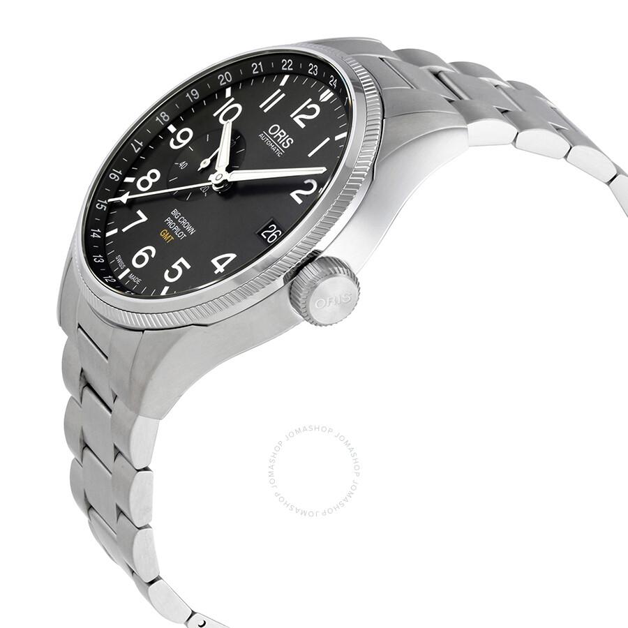 9bbfbe792 ... Oris Big Crown ProPilot Grey Dial Automatic Men's Watch 01 748 7710 4063 -07 8 ...