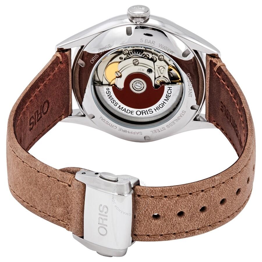 6b112c16d ... Oris Chronometer Silver Dial Men's Leather Watch 01 737 7721 4031-07 5  21 33FC
