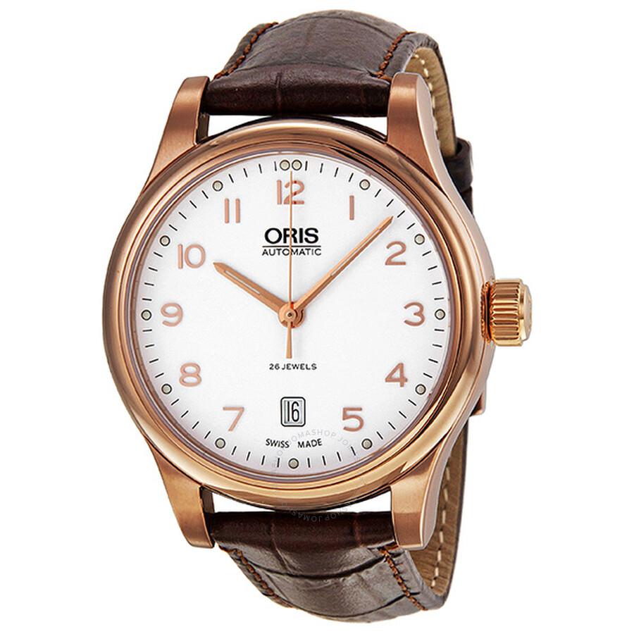28a859cd3b0 Oris Classic White Dial Rose Gold PVD Men s Watch 733-7594-4891LS Item No. 01  733 7594 4891 07 6 20 12