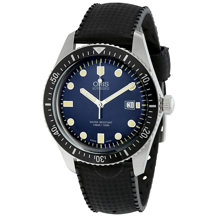 Oris divers sixty five automatic men 39 s watch 01 733 7720 4055 07 4 21 18 divers oris for Oris watches