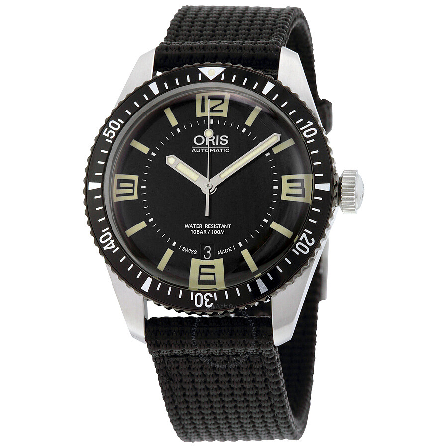 edc923ebbcd Oris Divers Sixty-Five Black Dial Men s Watch 733-7707-4064BKFS