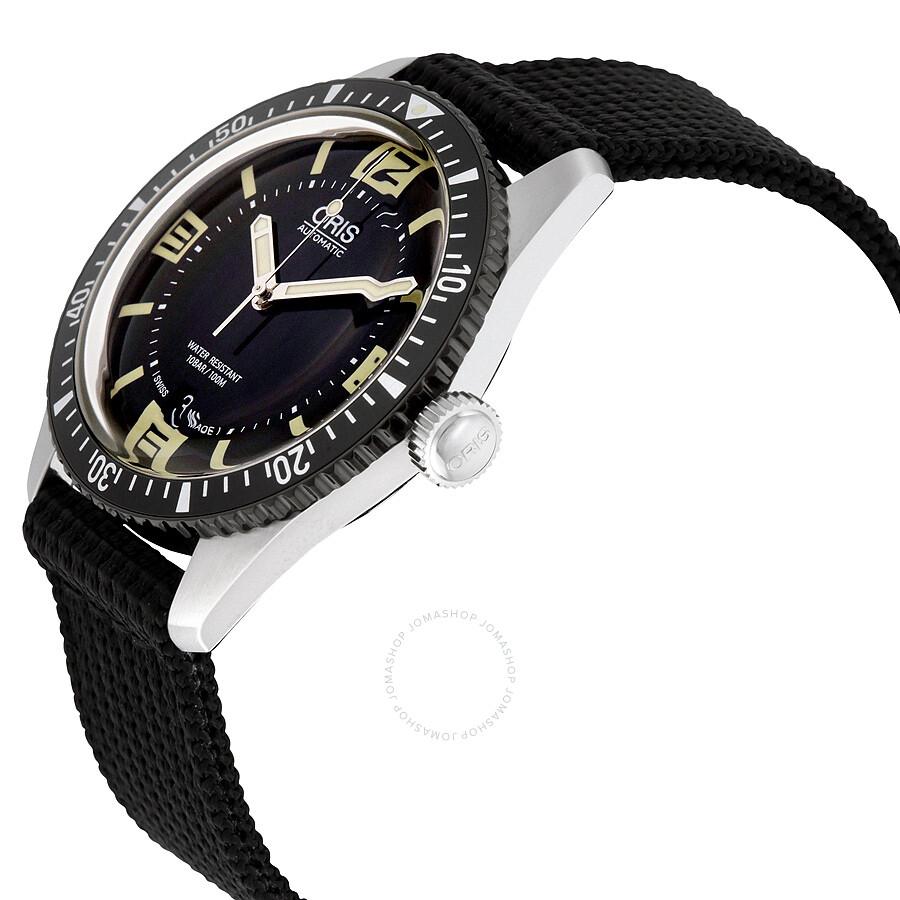 oris ferrari  Oris Divers Sixty-Five Black Dial Men's Watch 733-7707-4064BKFS ...