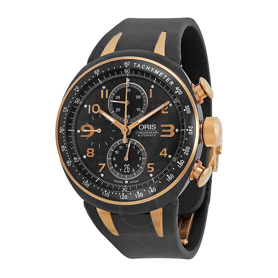 Oris tt3 chronograph automatic men 39 s watch 674 7587 7764rs tt3 oris watches jomashop for Oris watches