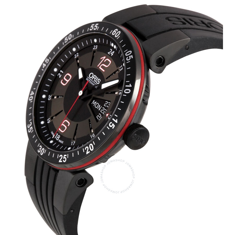 Oris williams f1 team day date men 39 s automatic watch 735 7634 4764rs williams f1 oris for Oris watches