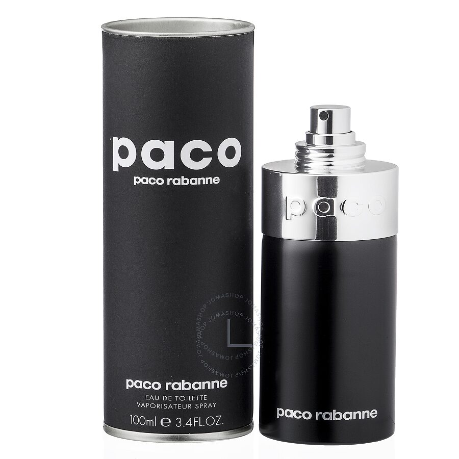 Paco paco rabanne edt spray 3 3 oz unisex jomashop for Paco by paco rabanne