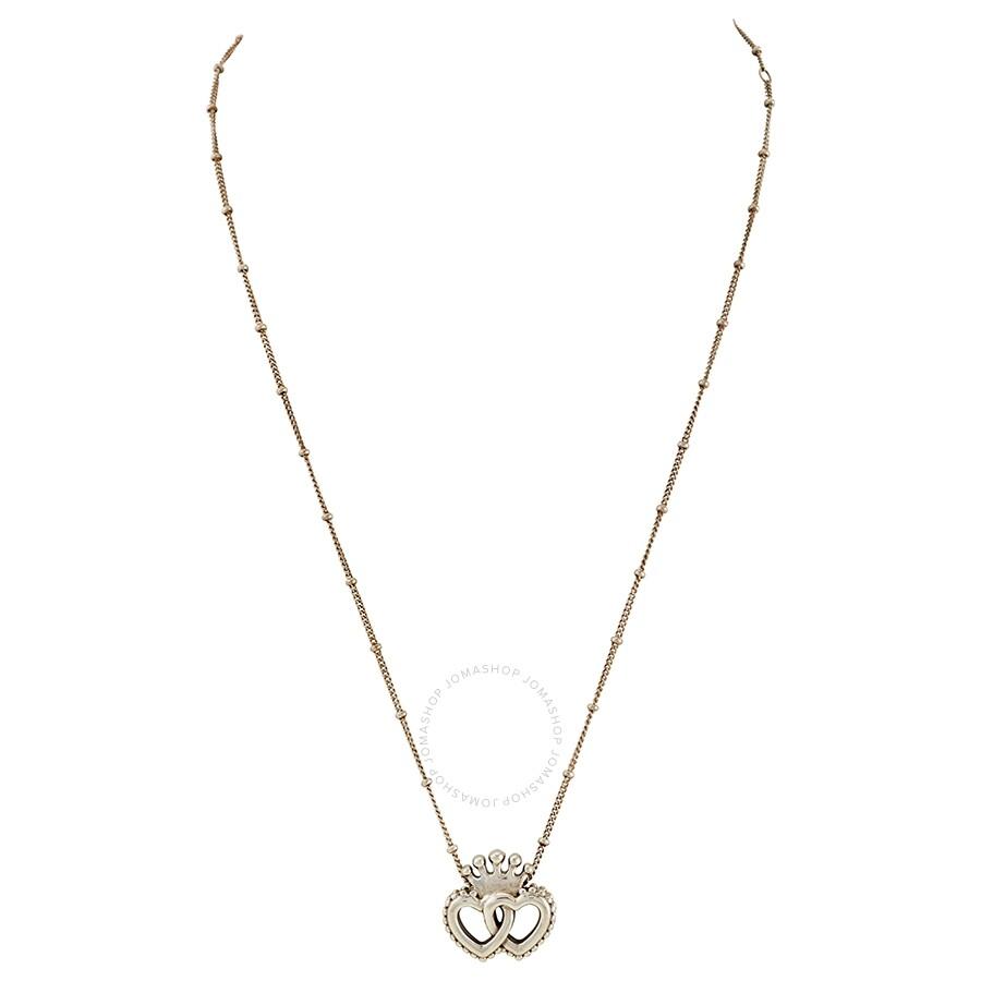Pandora Ladies Crown Interwined Hearts Pendant Necklace Pandora Ladies Jewelry Jewelry Jomashop