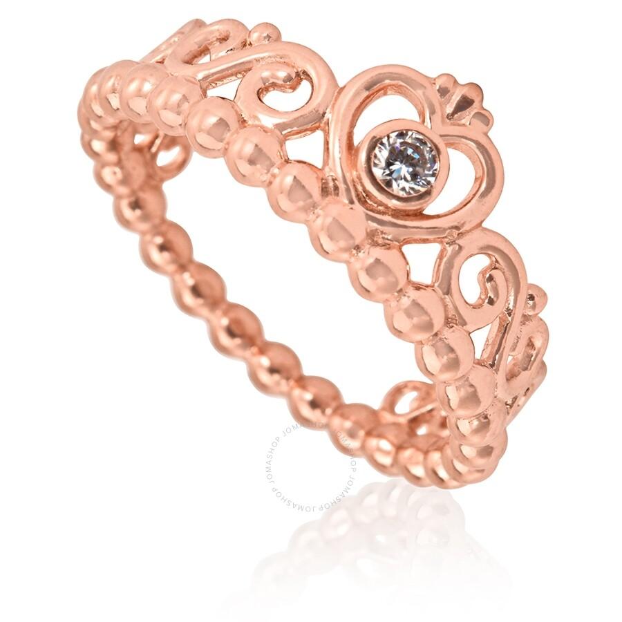 Pandora Ladies Princess Tiara Crown Ring Size 54 Pandora