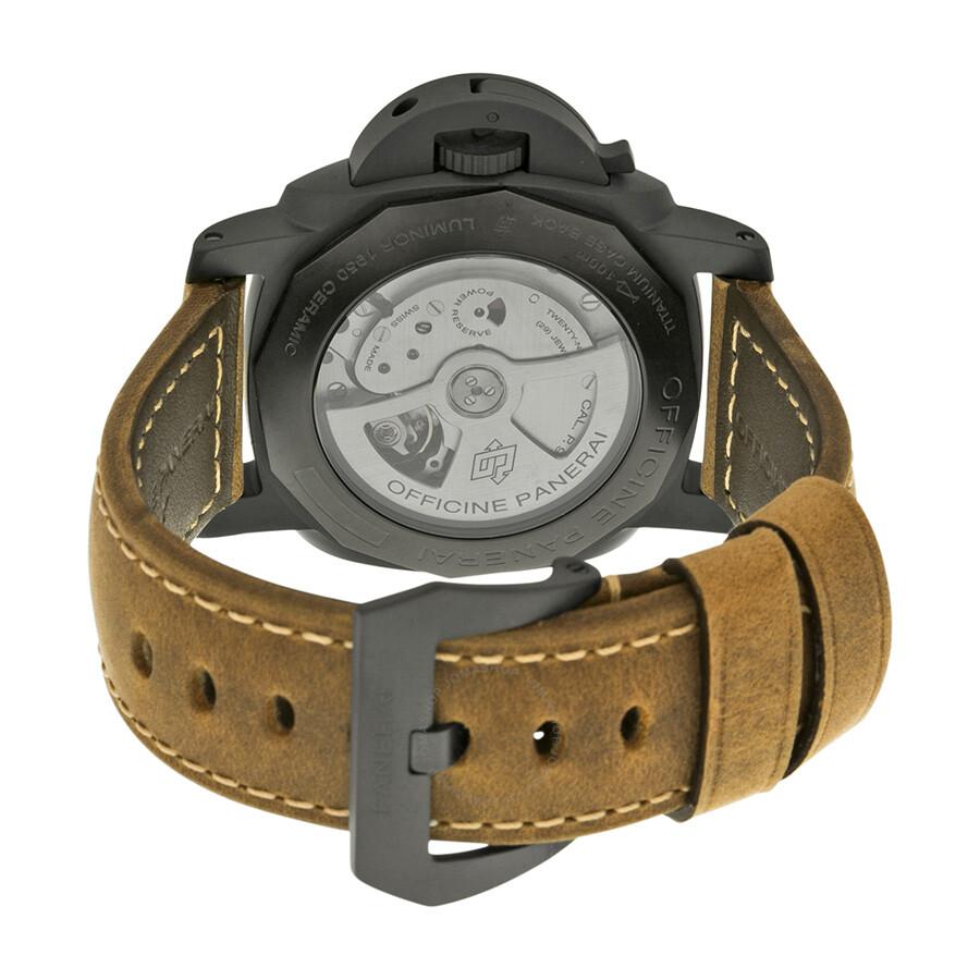 29dbbd127ce Panerai Luminor 1950 3 Days GMT Automatic Men s Watch PAM00441 ...