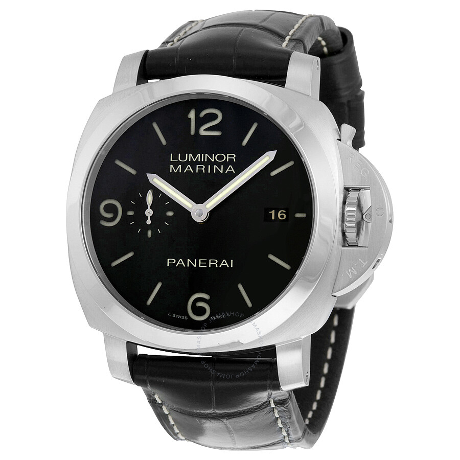 panerai luminor 1950 marina men 39 s watch pam00312 luminor 1950 panerai watches jomashop. Black Bedroom Furniture Sets. Home Design Ideas