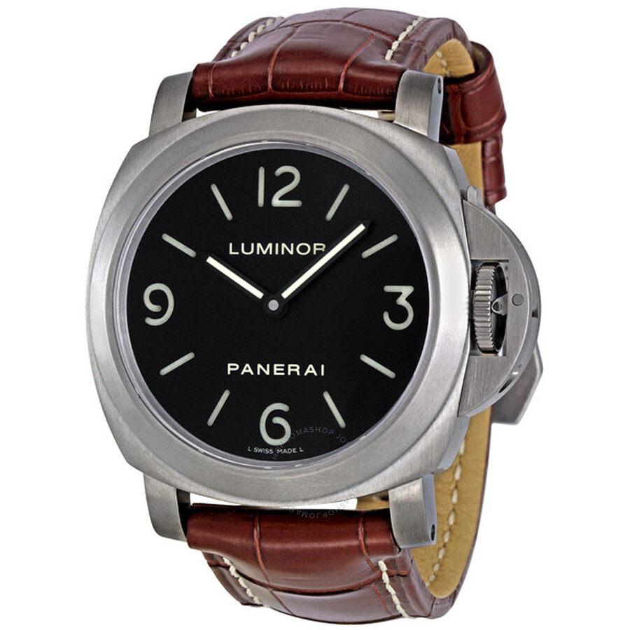 Panerai Luminor Base Black