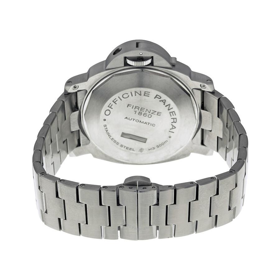 Panerai Luminor GMT Black Dial Stainless Steel Men s Watch PAM00297 ... 99ea2ea26b9f