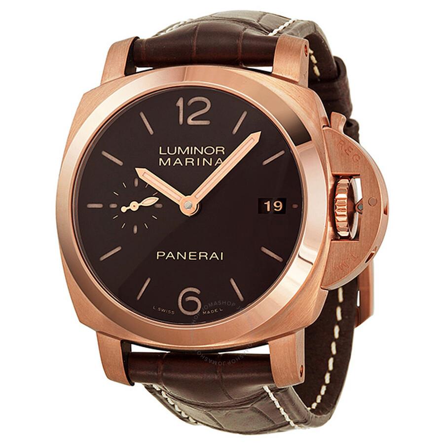 Mens Panerai Luminor GMT Watches