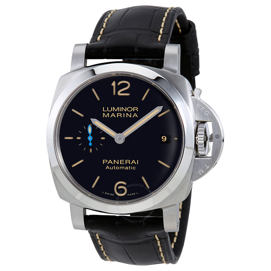 panerai luminor marina 1950 automatic black dial men 39 s watch pam01392 luminor marina panerai. Black Bedroom Furniture Sets. Home Design Ideas