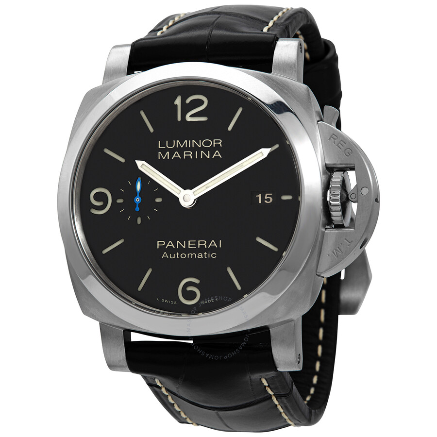 panerai luminor marina 1950 automatic watch pam01312 luminor marina panerai watches jomashop. Black Bedroom Furniture Sets. Home Design Ideas