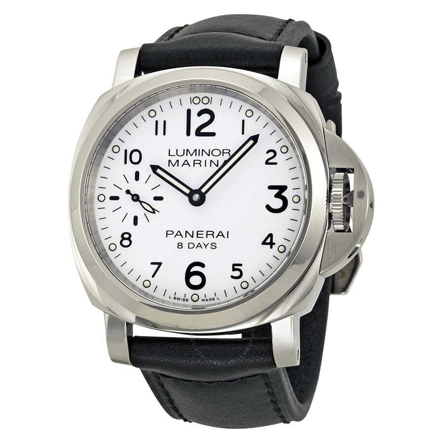 panerai luminor marina 8 days acciaio mechanical white dial men 39 s watch pam00563 luminor. Black Bedroom Furniture Sets. Home Design Ideas