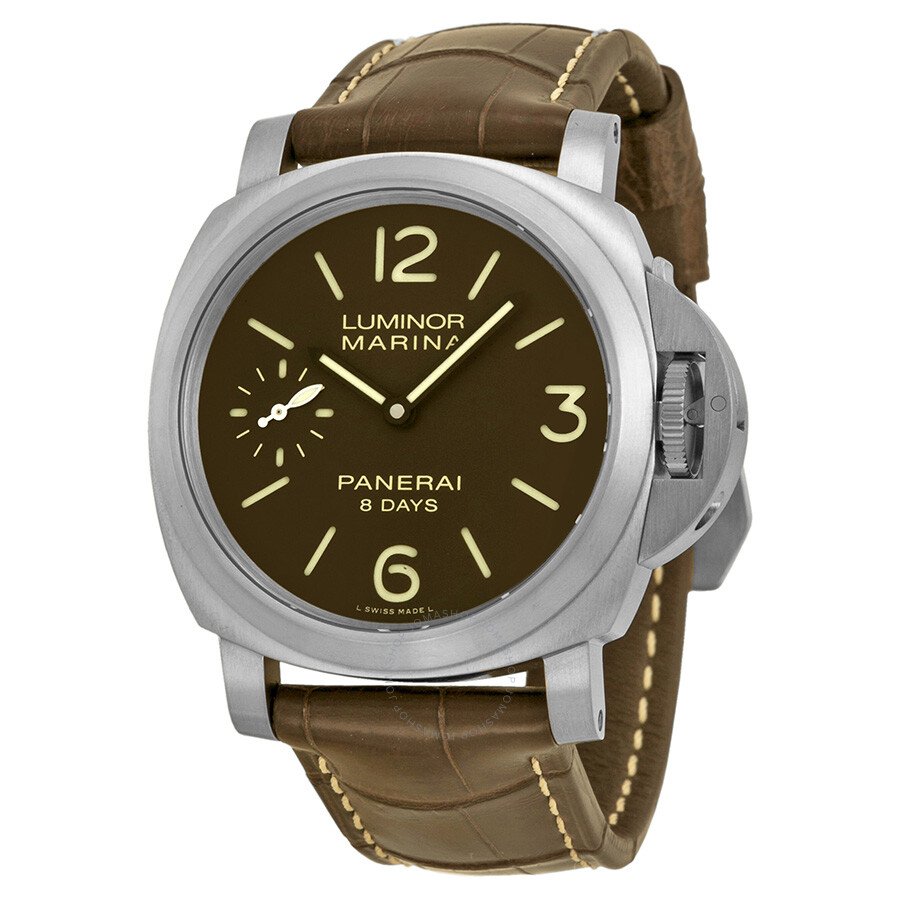 panerai luminor marina 8 days titanio mechanical men 39 s watch pam00564 luminor marina panerai. Black Bedroom Furniture Sets. Home Design Ideas