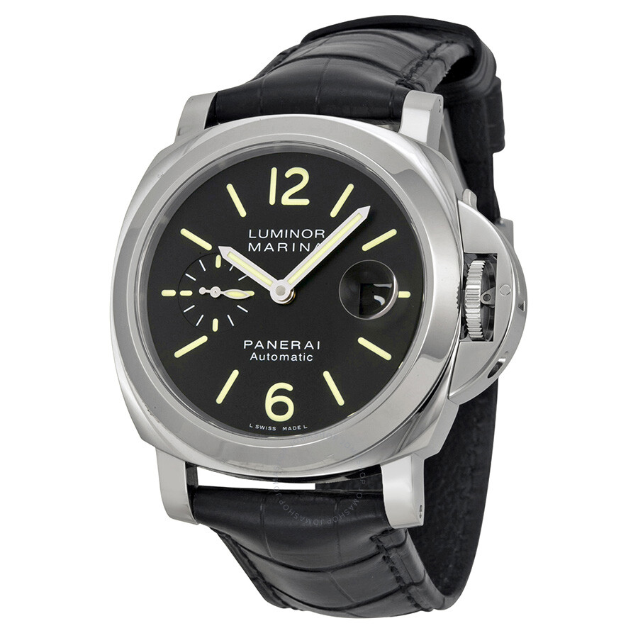 panerai luminor marina automatic men 39 s watch pam00104 luminor marina panerai watches. Black Bedroom Furniture Sets. Home Design Ideas