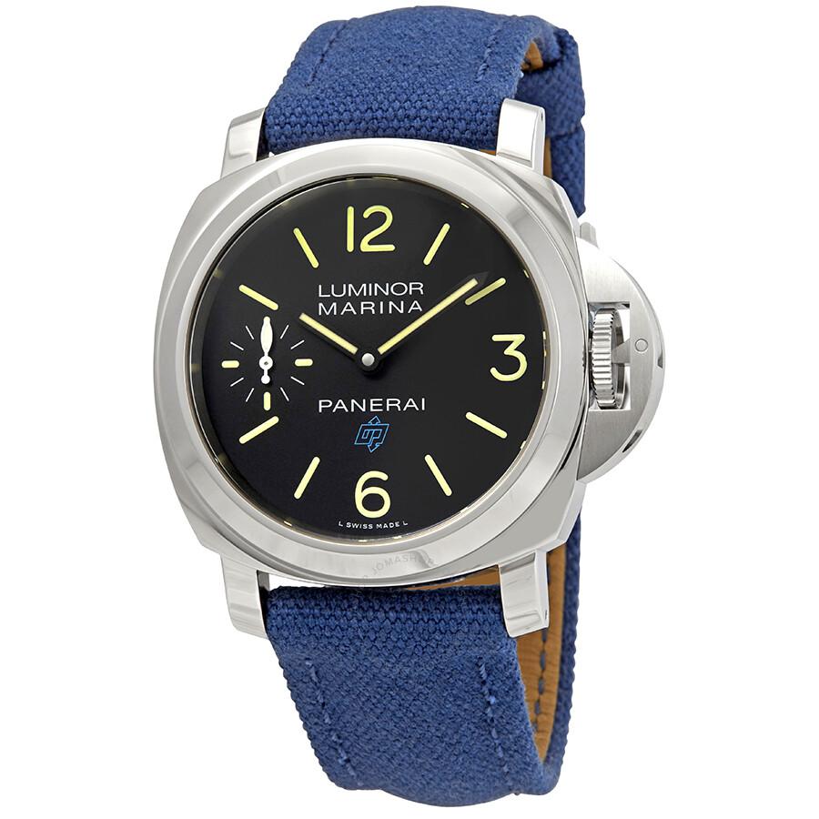 4a067f0e86f3 Panerai Luminor Marina Black Dial Watch PAM00777 - Luminor Marina ...