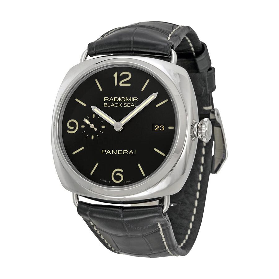 panerai radiomir black seal 3 days automatic men s watch pam00388