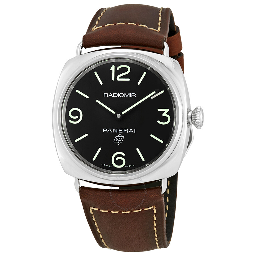Panerai Radiomir Brown Leather Men S Watch Pam00753 Radiomir