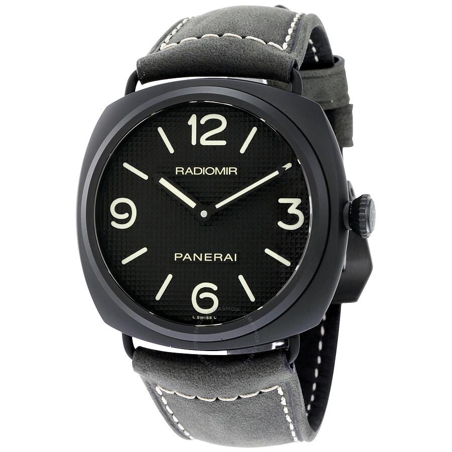 6a750a60a5cc Panerai Radiomir Ceramica Black Dial Matte Ceramic Men s Watch PAM00643 ...