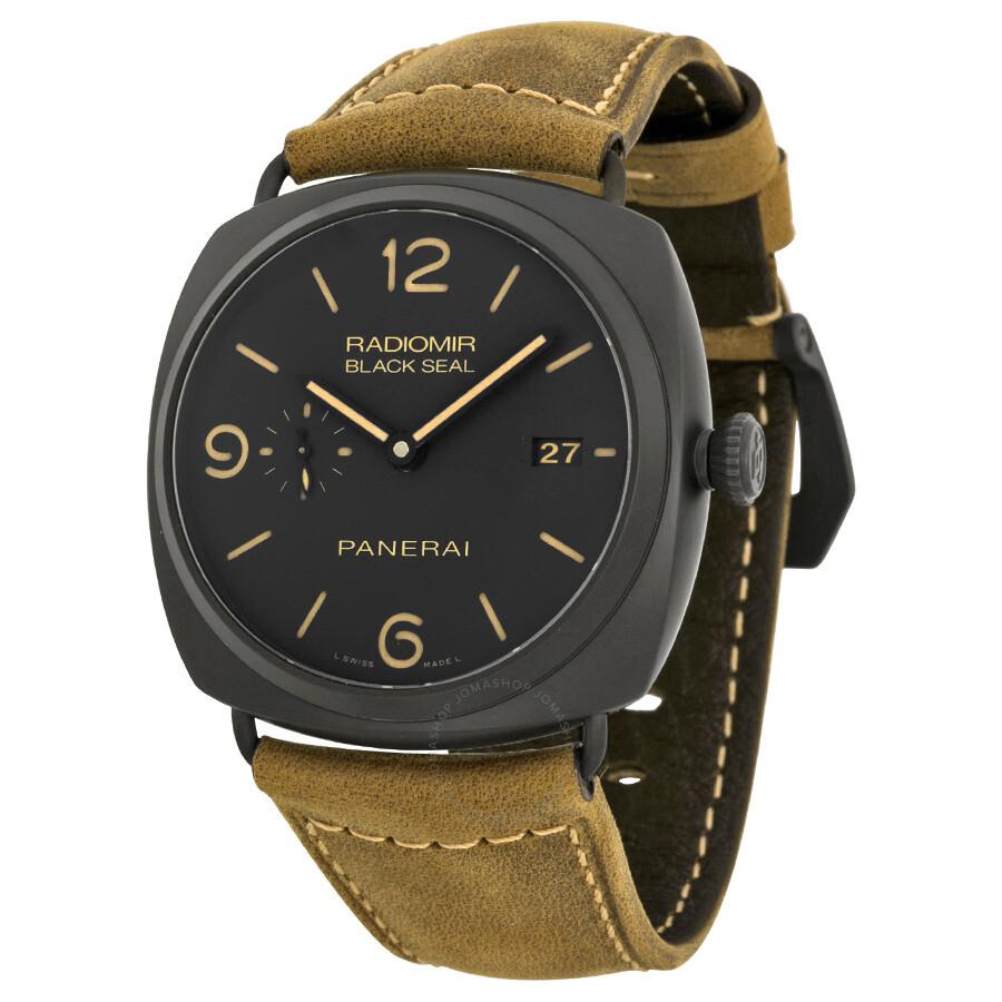 panerai radiomir composite black seal 3 days automatic men s watch
