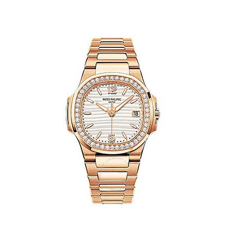 Patek Philippe 18kt Rose Gold Diamond Ladies Watch 7010-1R-011. Move your  mouse over image or click to enlarge
