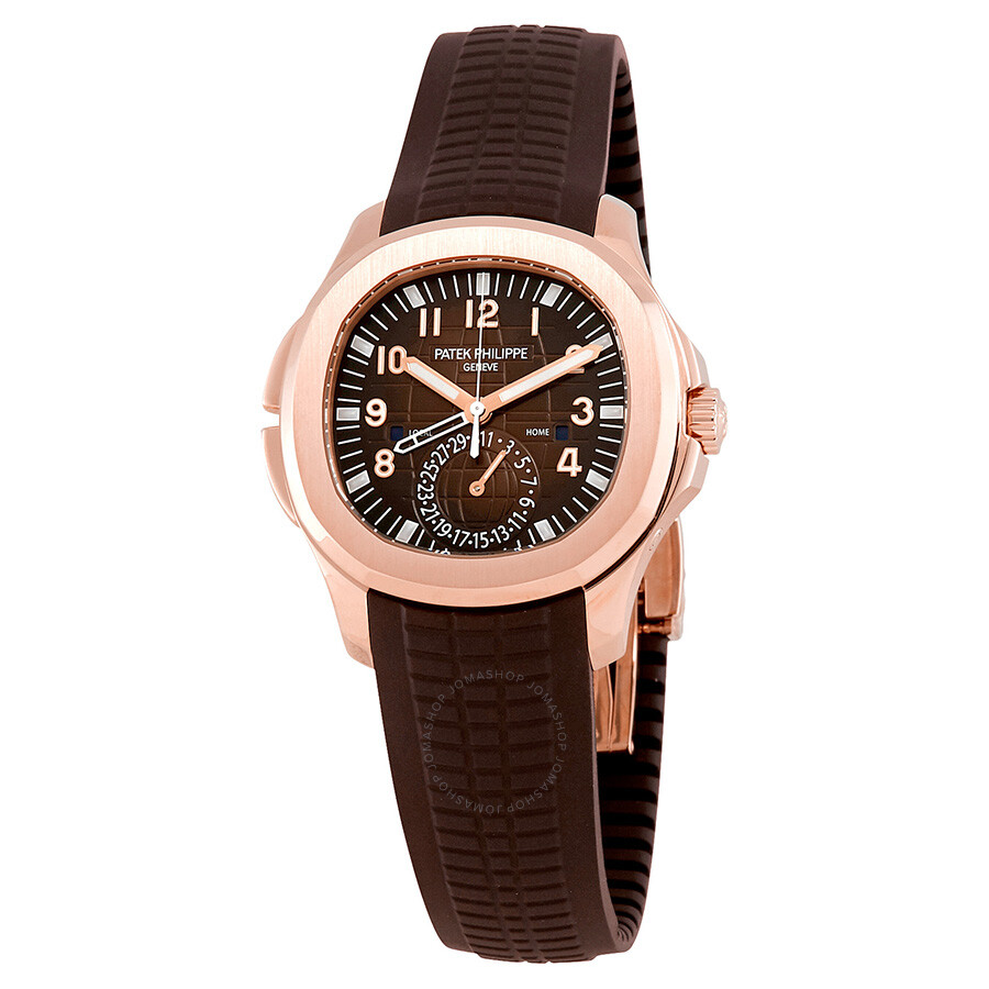 Patek philippe aquanaut 18kt rose gold automatic men 39 s watch 5164r aquanaut patek philippe for Patek philippe watch