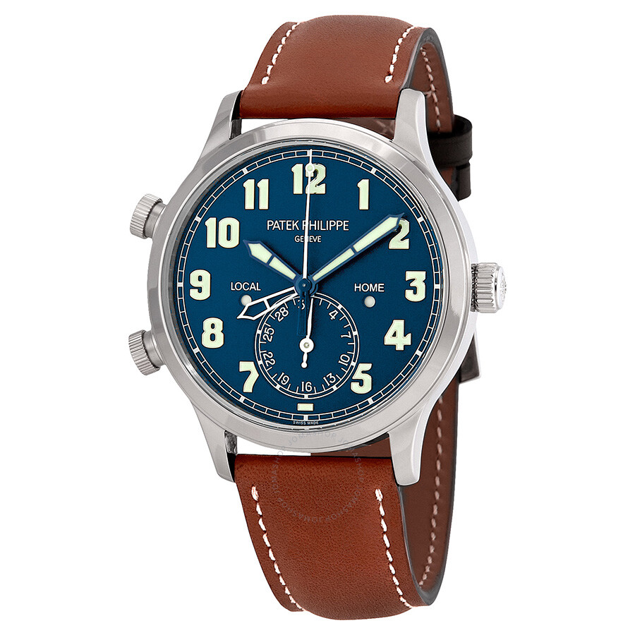 Patek Philippe Calatrava Pilot Travel Time Automatic Men's ...
