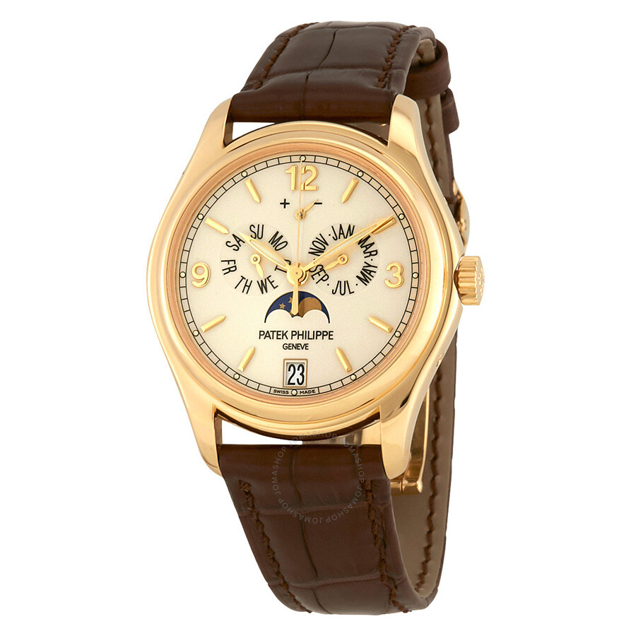 Patek philippe complicated annual calendar 18 carat yellow gold men 39 s watch 5146j complicated for Patek philippe watch